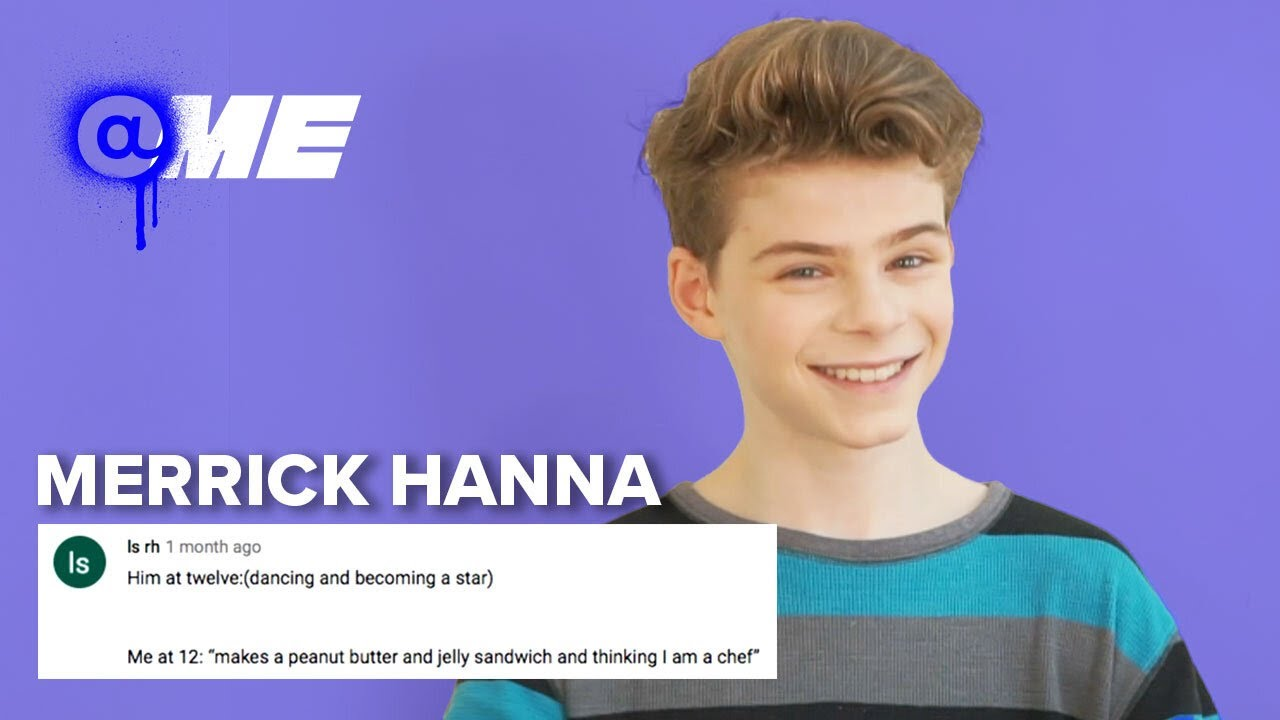 MERRICK HANNA ➤ Reacts to Fan Comments | @me