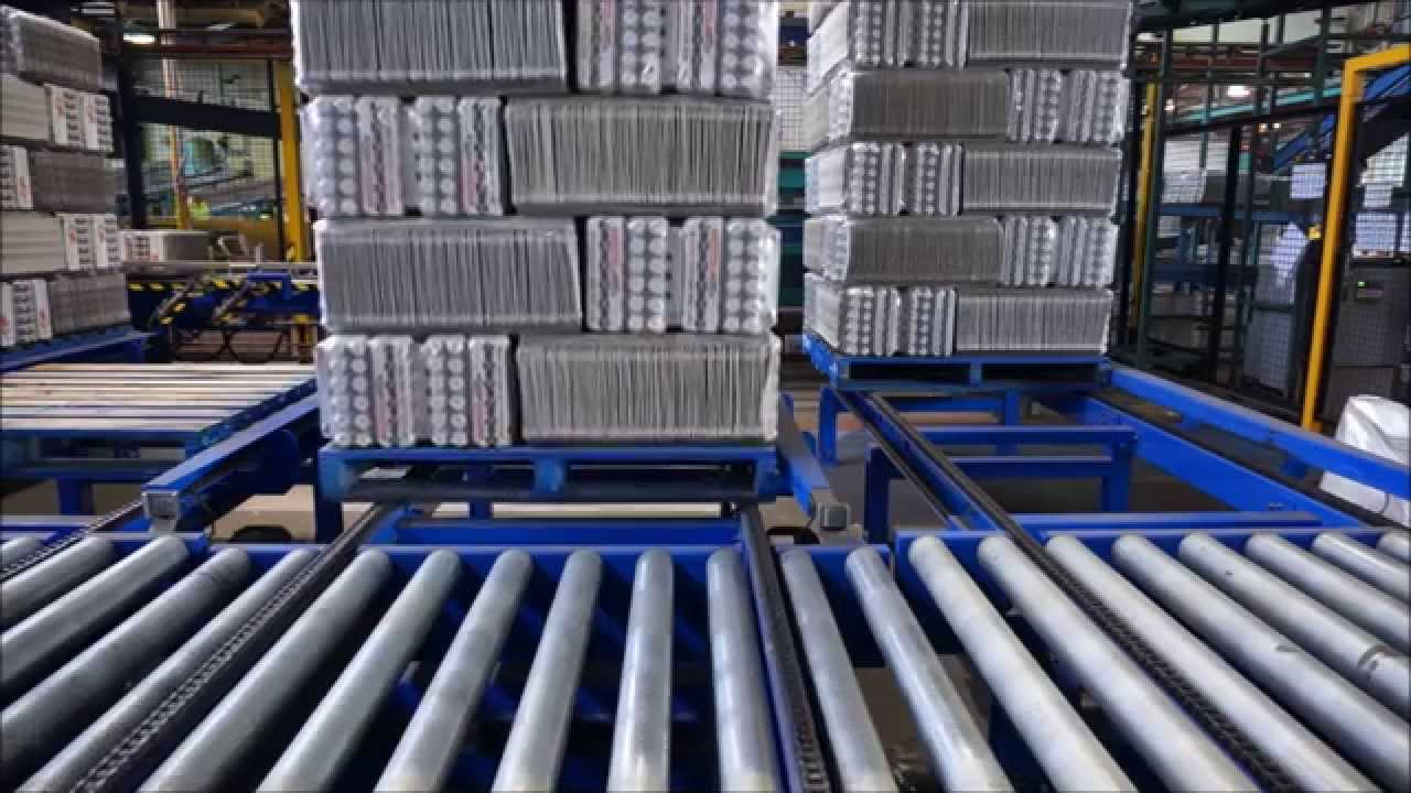 Adde Pallet Conveyor And Transfer System Youtube