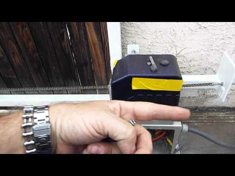 Liftmaster, Aleko, Viper DKL400UY, AC1400 gate opener installation from YouTube · Duration:  10 minutes 22 seconds