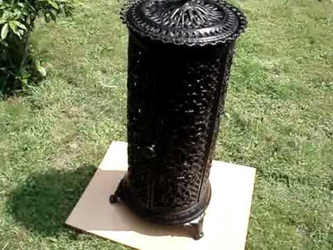 petit godin stoves demonstration. Black Bedroom Furniture Sets. Home Design Ideas