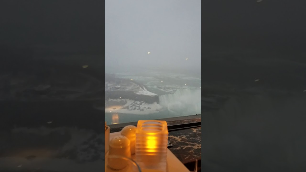 Niagara Falls Dining At The Skylon Tower Revolving Dining Room