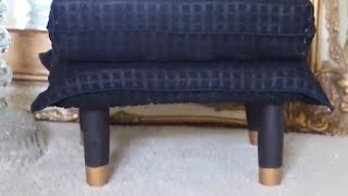 Dollar Tree Footstool DIY!!