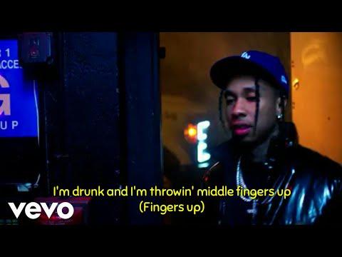 Marshmello - Light It Up Ft. Tyga & Chris Brown (Lyrics) (Official Music Video)