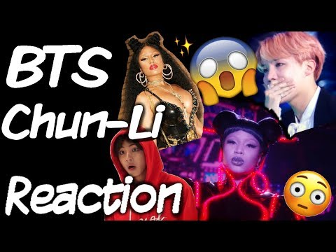 BTS REACT: Chun-Li - Nicki Minaj