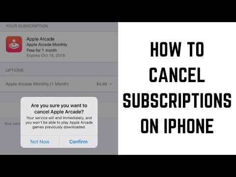 How to Cancel Subscriptions on iPhone (iOS 13)