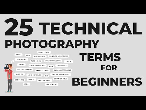 25 Photography Terms That You Should Know