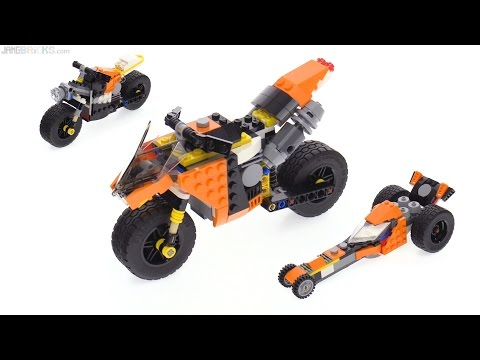 LEGO Creator 3-in-1 Sunset Street Bike review! 31059