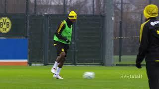 Das erste BVB-Training von Michy Batshuayi