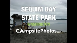 Sequim Bay State Park, Washington Campsite Photos