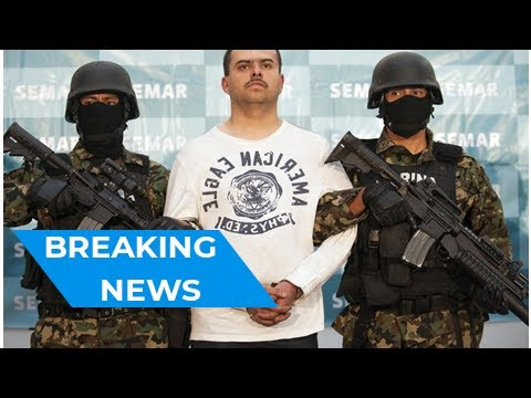 Mexican authorities capture alleged boss of notorious Zetas cartel in Mexico City | Breaking News