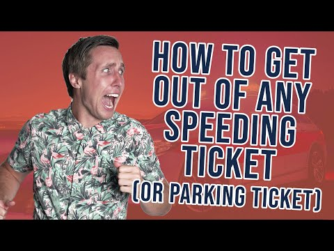 How To Get Out Of Any Speeding Ticket or Parking Ticket