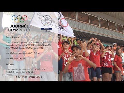 Journée Olympique par le CDOS Drôme