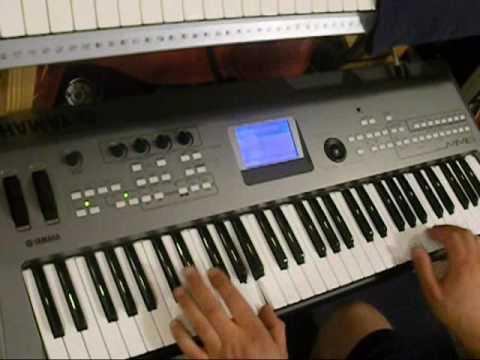 Axel F , Popcorn Played On Keyboard