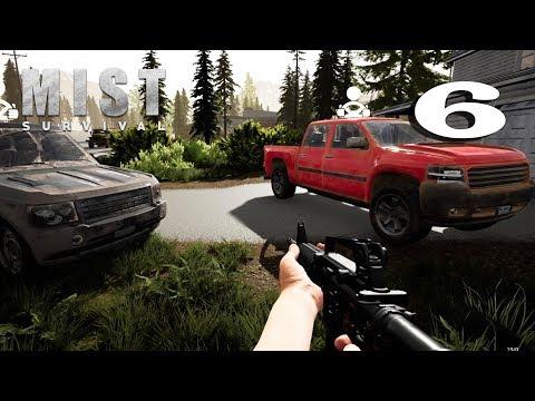 Mist Survival | Episode 6| Mag build ng base ( pick up truck,gawin ang wall at gate )