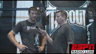 UFC 100: Stephan Bonnar talks Coleman and prefight sex life