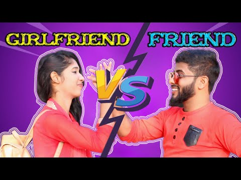 Friend (vs) Girlfriend Same Topic Funny Video | Shahadat Hosen | MD Lemon | Adda Ghor Fun