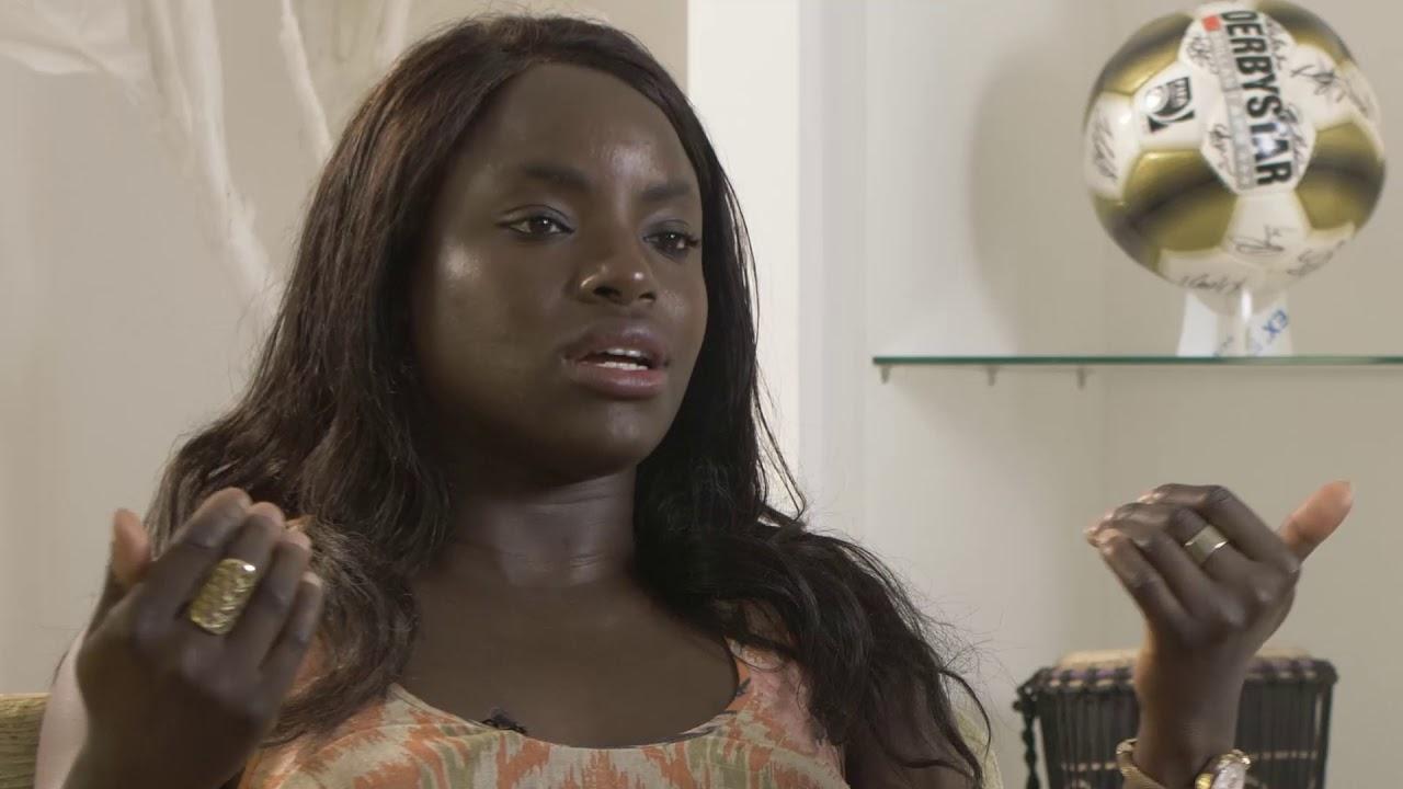 Nackt Eniola Aluko  Man in