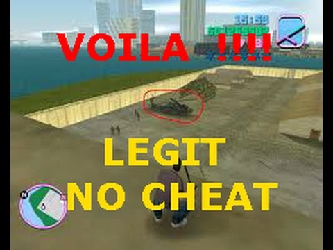 HOW TO GET A MILITARY HELICOPTER (HUNTER) IN GTA VICE CITY