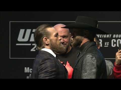 UFC 246 Conor McGregor vs Cowboy Cerrone: Careo Conferencia de Prensa
