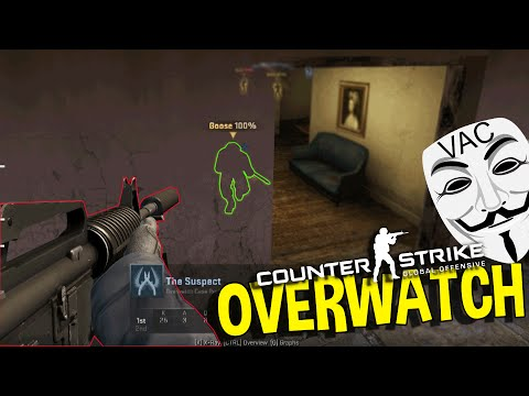 CS:GO BIGGEST HACKER EVER, AIMBOT, WALL HACKS ,SPEED HACKS (OVERWATCH FUNNY MOMENTS)
