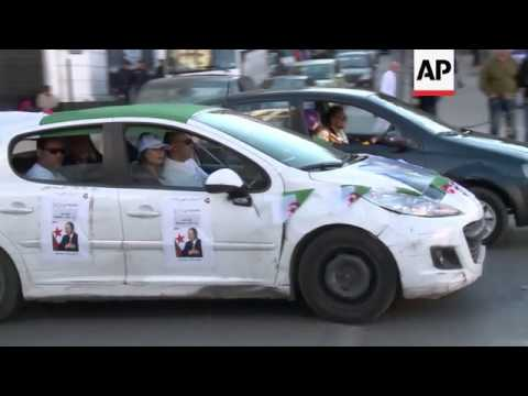 Algeria's frail president wins fourth term in landslide victory; celebrations