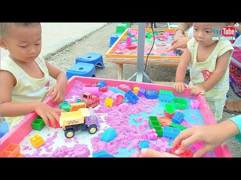 bermain-pasir-kinetik-|-permainan-anak