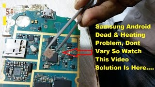 samsung s7562 power ic replacement solution | samsung dead fix power ic replace problem