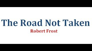 The Road Not Taken by Robert Frost | বাংলা লেকচার | Bengali Lecture