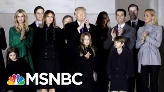 Vetoed! Watch President Trump Name Ripped Off NYC Building | The Beat With Ari Melber | MSNBC