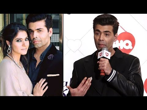Karan Johar talks about his patch up with Kajol | Video