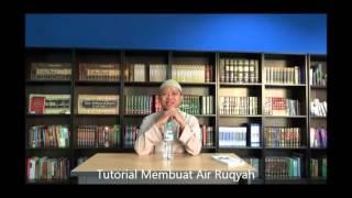 TUTORIAL MEMBUAT AIR RUQYAH - Eri Abdul Rohim