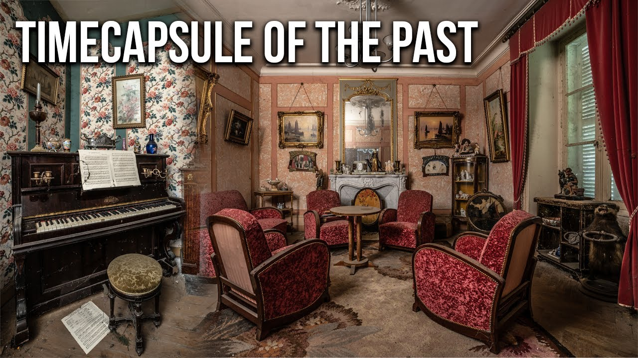 Download Astonishing Abandoned French 18th-century Manor   A legit time-capsule of the past