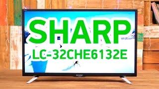Sharp LC-32CHE6132E - умный телевизор с привлекательным внешним видом - Видео демонстрация