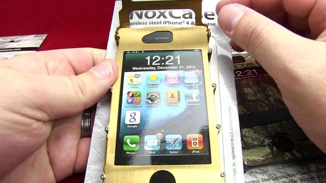 new product 75dd0 52963 CRKT iNox Case for iphone4/4s