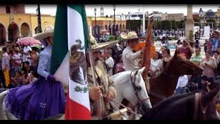 Manuel Doblado Guanajuato Desfile 16 de septiembre 2015