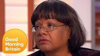 Diane Abbott Speaks On The Abuse She Has Received Online | Good Morning Britain