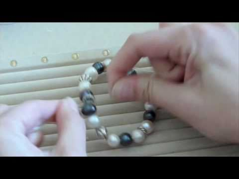 How To Make A Stretch Bracelet Youtube