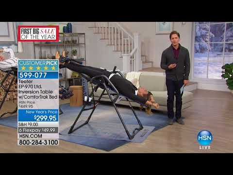 HSN | Teeter Inversion Fitness Solution 01.15.2018 - 06 PM