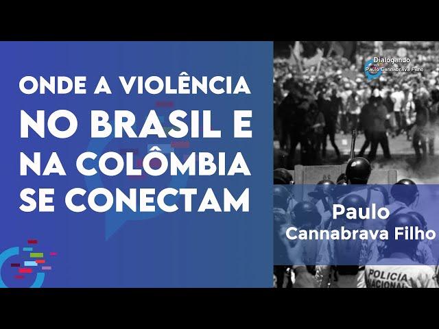 Onde a violência no Brasil e na Colômbia se conectam?