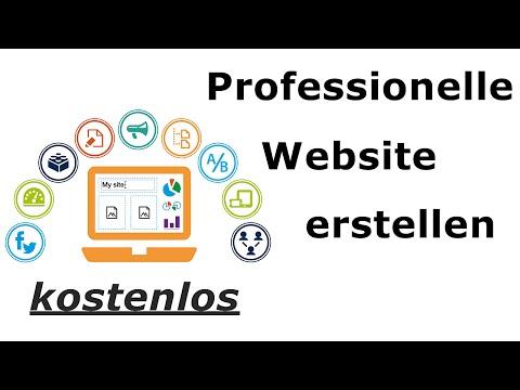 Professionelle Website erstellen – kostenlos