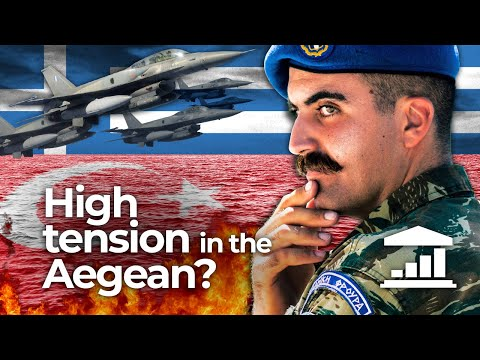 Is TURKEY planning the INVASION of GREEK territory in the AEGEAN Sea? - VisualPolitik EN