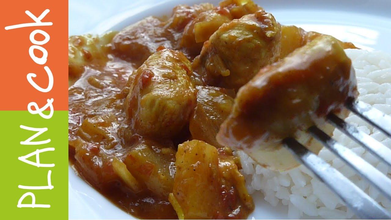 рецепты курица карри дюкан