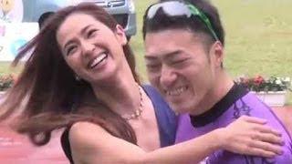 【伊東GⅡ共同通信社杯】優勝して号泣の新田を中村アンが熱い抱擁で祝福
