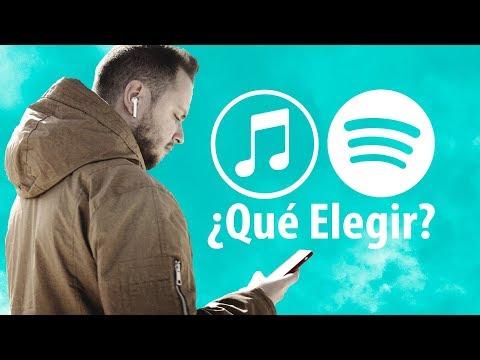 Spotify O Apple Music, ¿qué Servicio De Música Elegir?
