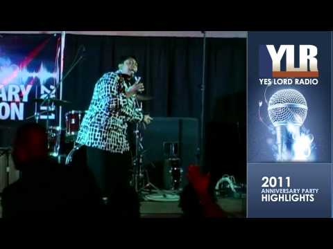 Monica Lisa Stevenson at 2011 Yes Lord Radio Annv. Party