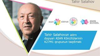 """Sabirabad """"ASAN xidmət"""" könüllülərinin K27M1 adlı qrupunun təqdimatı"""
