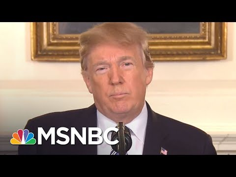 Donald Trump Responds To FL Shooting Without Mentioning Guns | The 11th Hour | MSNBC