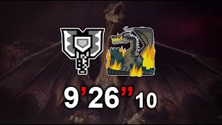 """[MHW:I] Fatalis charge blade solo 9' 26"""" 10"""