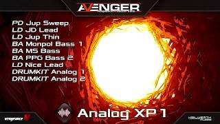 Vengeance Producer Suite - Avenger - Analog XP1 Demo