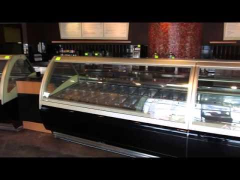 Oscartielle 7' Gelato Koreia C83FK-12SC + 7' C83FK-12SC + 5' C87K-A15SC Med Temp Pastry Display